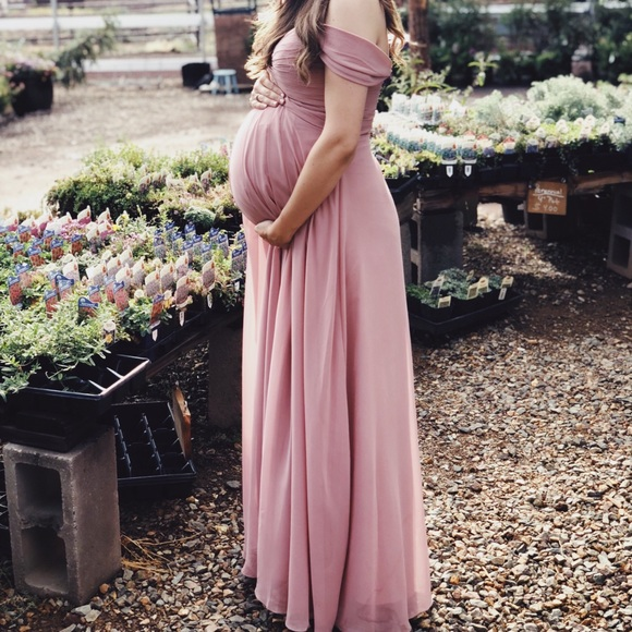 18e24ff264d Azazie Kaitlynn Dusty Rose Bridesmaid Dress. M 5b5f77371070eea53aaf8cb1